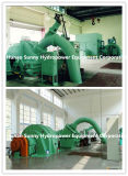 Горизонтальный гидро (вода) генератор турбины гидроэлектроэнергии турбины Cj237/Pelton