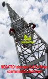 Cella telescopica di Megatro sulla torretta di comunicazione della rotella