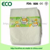 Indicateur d'humidité à faible taux de qualité Couches de bébé économique dans une couche de taureau