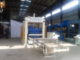 Bloc concret complètement automatique faisant la machine de bloc de machine de fabrication de brique de la colle de machine