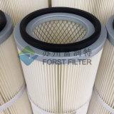 De Noordse Geplooide Cilindrische Filter van Forst