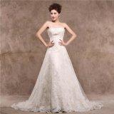 Линия платье венчания Xz1521 шнурка Bridal