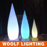 Lampe de plancher en plastique à LED rechargeable sans fil