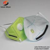 Masker van het Stof van het Gezicht van het Ademhalingsapparaat van de Vouwen van Ce En149 Fffp2 Ffp3 Niosh N95 het Corpusculaire