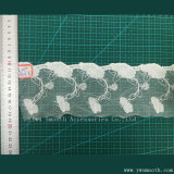Form-Stickerei-Spitze-Bekleidungszubehör-wasserlösliches Baumwollgewebe-Gewebe