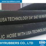 Importation en provenance du boyau R6 en caoutchouc hydraulique de la Chine SAE 100