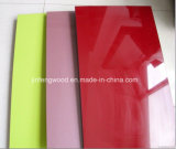 Möbel Material Carbinet Board in Door High Glossy UVCoated MDF Plywood Blockboard