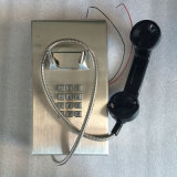 스테인리스 비상 전화 Knzd-10 형무소 전화 Kntech