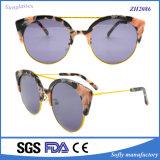2016 gafas de sol populares del acetato de la manera de las nuevas muchachas del estilo