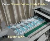De industriële A3 A4 Omslagen van Creaser van de Perforator van de Snijmachine van het Document Automatische