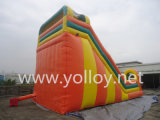 Amusing Fashion PVC Tarpaulin Inflatable Amusement Slide
