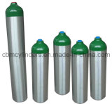 Cilindro de oxigênio de alumínio de Md-Size/2.9L