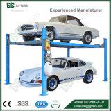 Стандарт 4 столбцов для подъема автомобиля гараж четыре должности Автостоянка подъемника