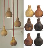 Erstaunliche hölzerne hängende helle moderne Lampen