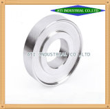 顧客用ステンレス鋼のアルミニウム真鍮の銅合金CNCの精密によって機械で造られる製粉の回転