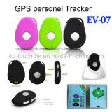 (2G/GSM) Perseguidor personal impermeable del GPS con el SOS y EV-07 de múltiples funciones