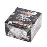 Papeles de balanceo de Weed del cigarrillo del papel del cáñamo de la pista del cráneo del avispón