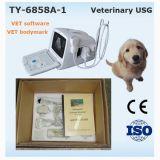 Ce faible coût numérique Ceritified Vet échographie portable (TY-6858A-1)