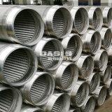 Fabricación de acero inoxidable alambre del tubo de agua Filtro de pantalla de tubo de pantalla Johnson