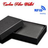 Fornecedor da China Custom Fashion RFID Shielding Carbon Fiber Wallets