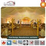 贅沢な装飾が付いている500の人15X40mの屋外の結婚式のテント
