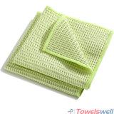 De mini Handdoek van Microfiber van de Keuken van het Weefsel van de Wafel Drogende