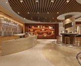 SGS et approbation Ce bois mur intérieur Conseil composites en plastique