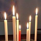 低価格のクリスマスデザイン白いパラフィン蝋燭