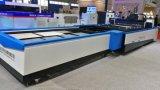 Stahlmetalllaser-Scherblock-Maschine mit Serie des Austausch-Tisch-Lm3015A3