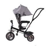 Passeio da bicicleta do triciclo do bebê dos miúdos de China no carrinho de criança do veículo com rodas dos brinquedos três