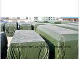Tela do poliéster do PVC da alta qualidade para as tampas do armazenamento