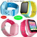 4G Chamada de Vídeo Vigilância Rastreador GPS com GPS+lb+WiFi D49