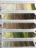 Caliente-Vendiendo el color modificado para requisitos particulares 100% del hilo de coser de la materia textil del filamento del poliester validar