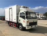 O alimento das rodas de Sinotruk HOWO 6 refresca o caminhão com refrigerador do portador