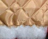 Forro acolchoado (tecido tafetá poliéster acolchoado com pasta de poliéster)