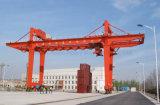 Weihua 판매를 위한 레일을 설치하는 콘테이너 미사일구조물 기중기 Rmg