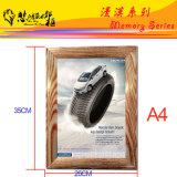 Рамка зеркала подарка промотирования плаката искусствоа изображения фотоего Китая алюминиевая