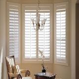 Hölzernes Flügelfenster-Fenster des Haut-Profil-UPVC mit doppeltem glasig-glänzendem Glas