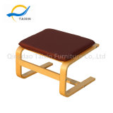 Curva de alta qualidade do mobiliário de madeira para os pés