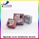 Empaquetado de papel de encargo personalizado impresión mate del rectángulo del jabón