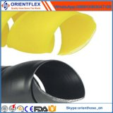 Protetor espiral preto e colorido da mangueira do protetor