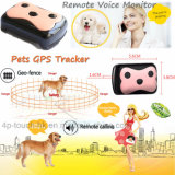 la Geo-Cerca 2g acaricia a perseguidor del GPS con el collar y el chapoteo D69 impermeable