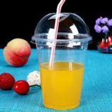 10のOzの使い捨て可能なプラスチックペット透過カラーコップ