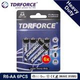 trockene Hochleistungsbatterie 1.5V mit BSCI für Taschenlampe (R03-AAA 8PCS)