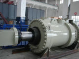 Grande tipo anteriore a semplice effetto non standard cilindro idraulico della flangia