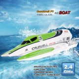 1341138-2.4G Racing Brushless Electric Water Cooling Speedboat Fiber Glass RC Boat