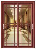 Exterior Puertas de aluminio de doble entrada