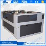 Reci 130W láser CNC Máquina de cortar acero al carbono
