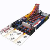 Для использования внутри помещений большой парк растянуть батут детский спортивный и тренажерный зал Parksuper взрослых батут парк
