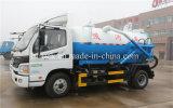 Foton Aumark 7대의 Cbm 흡입 하수 오물 트럭 하수구 부패시키는 진공 트럭